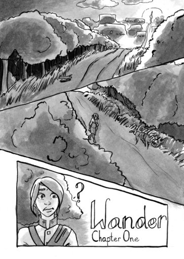 Wander Chapter 1 Page 1